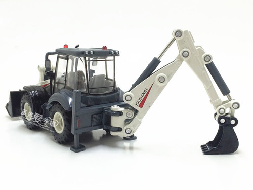 1:50 Two-way Forklift Bulldozer Back Hoe Loader Shovel Alloy Excavator Diecast Model For Baby Birthday Gifts Toys