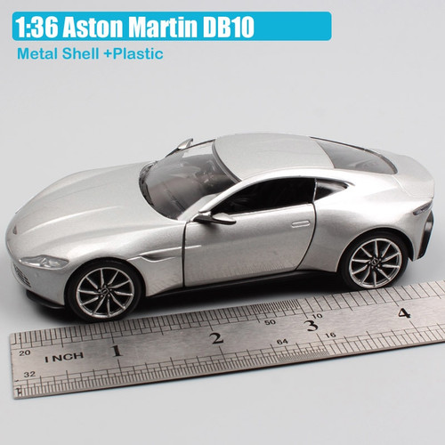 1:36 Scale Corgi Aston Martin DB10 James Bond 007 Spectre concept car sports coupe diecast vehicles model toy gift for child boy