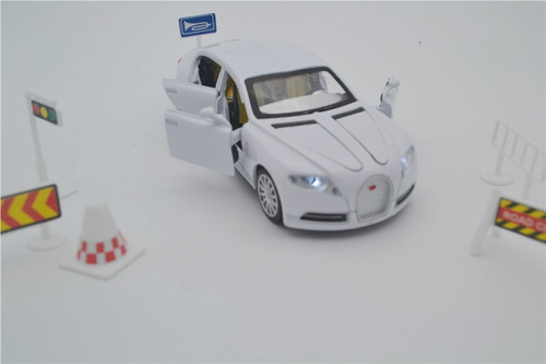 Hot sale Collectible Alloy Diecast toy Cars Model 1/32 Fashion Veyron 16C Galibier w/light&sound Pull Back oyuncak children Toy