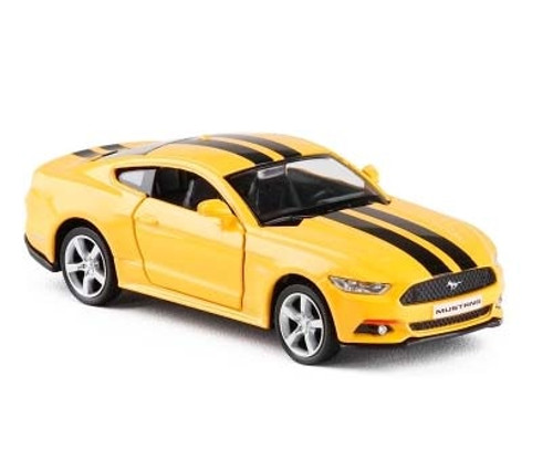 High Simulation 1:36 Mustang GT Alloy Model Cars Two Door Pull Back Sports Car Model Toy Gift For Kids Collection