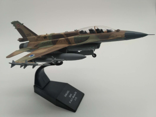 New 1/72 Scale ISRAEL 2015 F-16I Block-52 Airplane Alloy Falcon Aircraft Fighter F16 Model For Kids Gifts Toys Collections