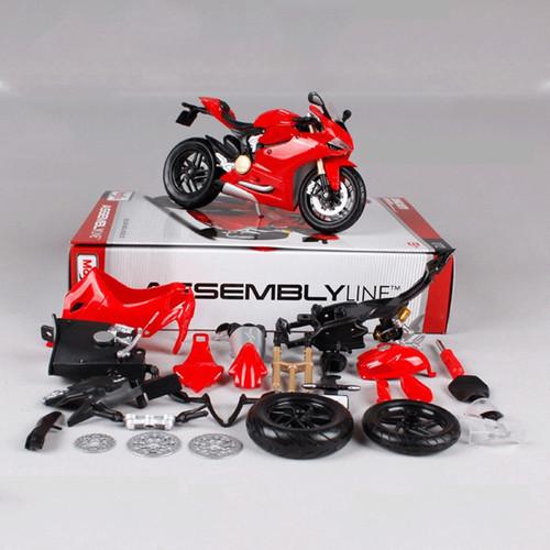 Maisto 1:12 Assembled Motorcycle Toy Alloy Motorbike Simulation Honda KTM Kawasaki Model Kids Toys Adults