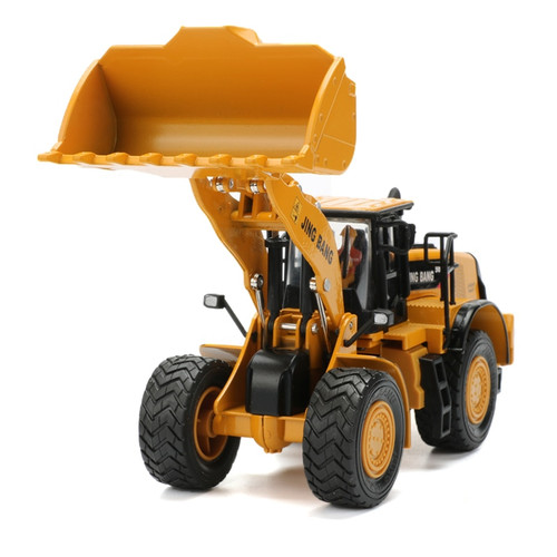 JINGBANG 1:50 Alloy  Loader Truck Construction Vehicle Car Model Toy For Collection Kids Toys  Boys Gift