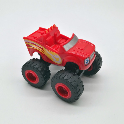 2017 6pcs/set Blaze Car toys Russian Crusher Truck Vehicles Figure Blaze Toy Gifts For Kids
