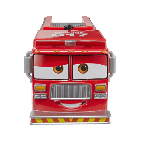 Disney Pixar Cars 3 Red Firetruck Metal Tiny Lugsworth Diecast Toy Car Lightning McQueen Car Toys Gifts For Children