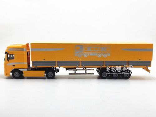 1:50 Alloy engineering model car container trailer truck Christmas new year gift collection children's kid toy original box