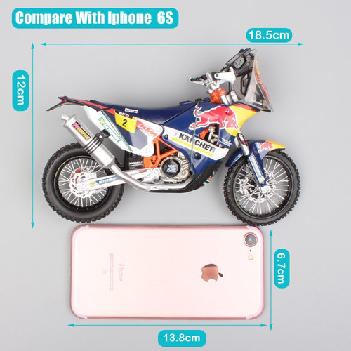 1:12 scale KTM SXF 450 Rally 2014 RED BULL racing team No.2 Francisco Enduro Motorcycle superbike Model Motocross toys for boys