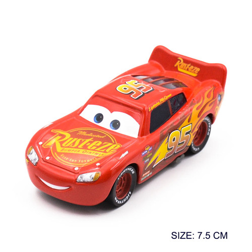Disney Pixar Metal 1:55 Toys Cars 3 Lightning McQueen Jackson Storm Ramirez Cars Christmas Birthday Gifts Childen Boys