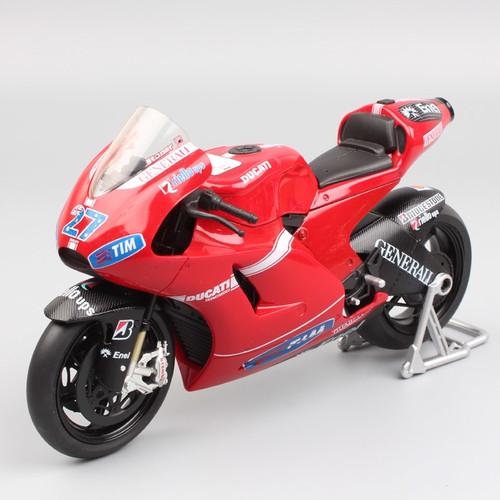 1/12 automaxx Desmosedici MotoGP GP10 2010 No.27 racer Casey Stoner racing Diecast model moto bike motorcycle toy car collectors