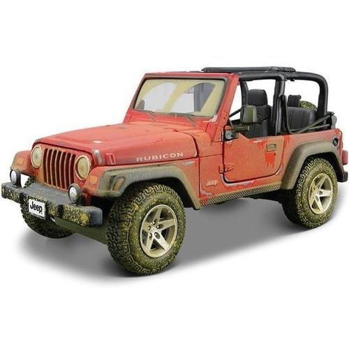 Maisto 1:27 Jeep Wrangler Rubicon Diecast Model Car Toy New In Box Free Shipping