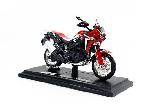 Maisto 1:18 Honda AFRICA TWIN DCT CRF1000L MOTORCYCLE BIKE DIECAST MODEL TOY NEW IN BOX