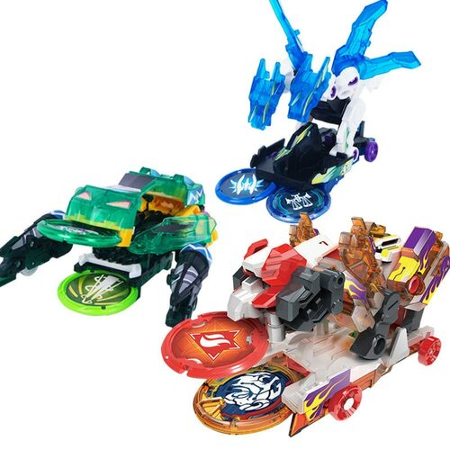 Kids Cars Toys Me Game Burst Speed Deformation Car Action Figures Card Capture Wafer 360 Degree Burst Transformation Car Toys