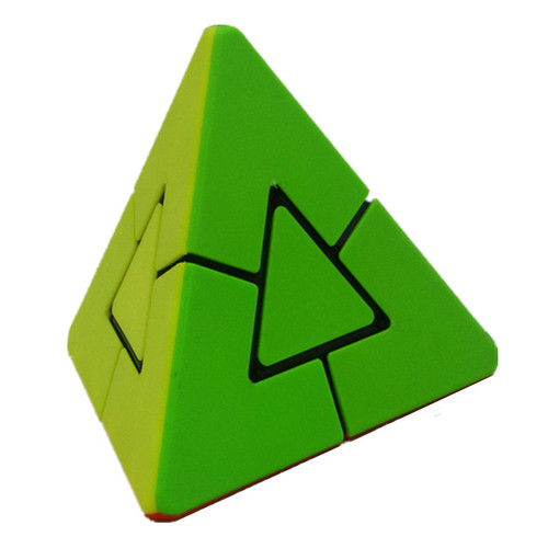 Lefang 2x2 Strange Shape Pyramid Magic Cube Brain Teaser Puzzle Cube Educational Toy