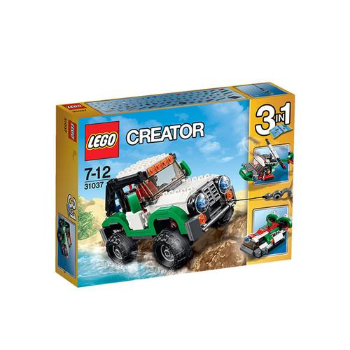LEGO Creator Adventure Vehicles Architecture Building Blocks Model Kit Puzzle Educational Toys For Children L31037
