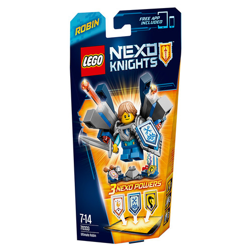 LEGO NEXO ULTIMATE Robin Architecture Building Blocks Model Kit Puzzle Educational Toys For Children LEGC70333