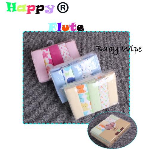 HappyFlute 10pcs/set Pack Baby Washcloths Small Baby Towel Wipes 23cmx23cm Soft Baby Wipes Random Colors Baby Feeding Towels