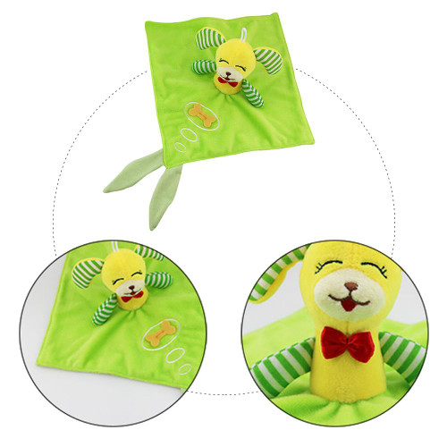Baby Animal Appease Towel Plush Toy For 0-2 Years Old Baby Hand Grip Appease Doll Appease Doll