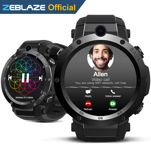 New Zeblaze Thor S 3G GPS Smartwatch 1.39inch Android 5.1 MTK6580 1.3GHz 1GB+16GB Smart Watch BT 4.0 Wearable Devices