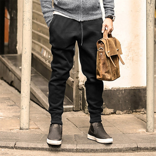 joggers sweatpants men new hip-hop sweatpants men solid casual harem pants masculino brand mens Thicken cotton trousers