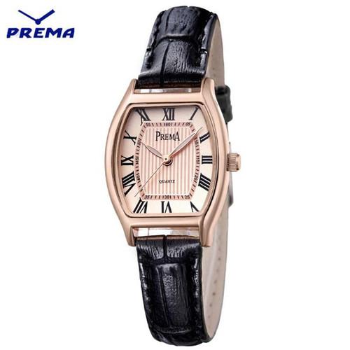 prema Genuine leather Quartz watch Rectangle Top Brand  Luxury ladies watch Tonneau wristwatch