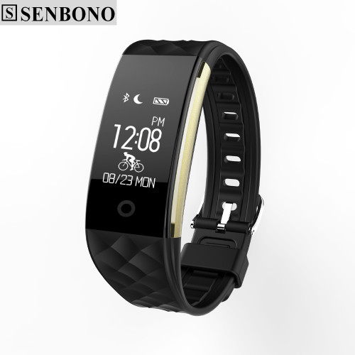 Senbono S2 plus sport Smart Band wrist Bracelet Wristband Heart Rate IP67 Waterproof Bluetooth Smartband For iphone android
