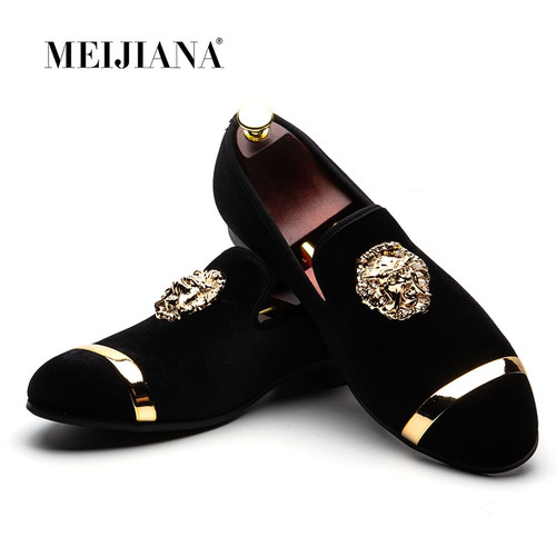 New Big Size Men's Loafers Slip on Men Leather Shoes Luxury Casual Fashion Trend Brand Men's Shoes Wedding Shoes