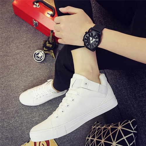 2018 new Mens casual shoes man flats breathable Mens shoes fashion flat classic outdoor male Mens canvas Shoes for Men flats