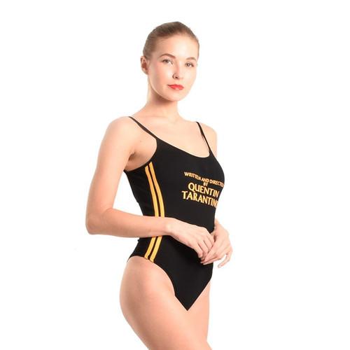 Halter Cami Bodysuit 2018 New Trend Summer Black Leotard Bodysuit Top Women Sleeveless Bandage Show Sexy Hot body Suit