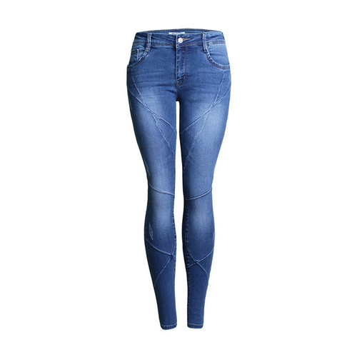 QMGOOD Boyfriend Jeans for Women Plus Size Skinny Mom Jeans Blue Denim Pencil Pants Fashion New Women Jeans Pants Streetwear XXL