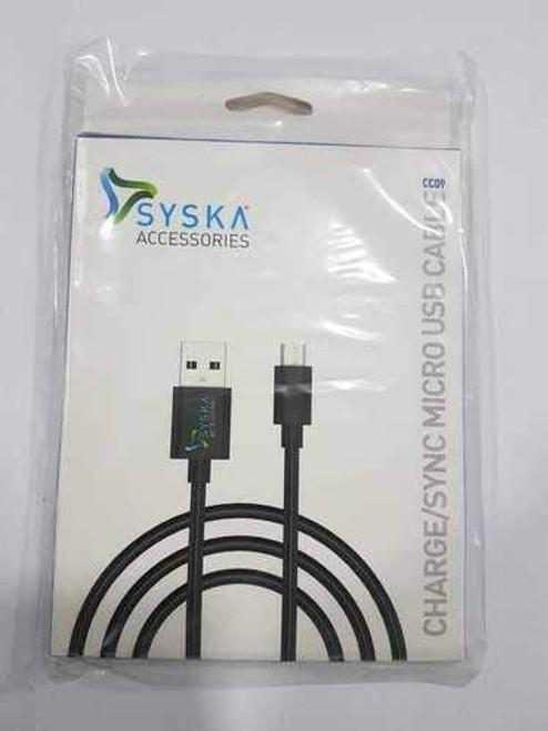 Syska CC09 Charg Sync Micro USB Cable