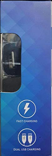Syska WAVE Dual USB Car Charger 2.4 Amp