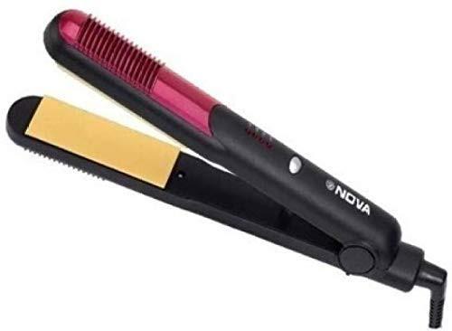 Nova Nhc-473crm Ceramic Hair Straightener For Women And Men