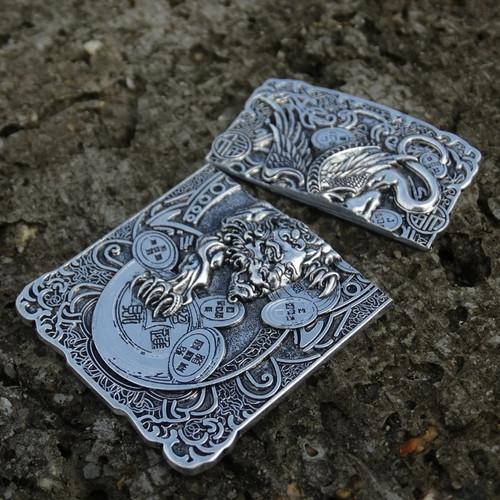 Pixiu Metal Badge Suitable For Zippo Lighter Accessories Replacement For Kerosene Oil Lighter Decor Self-adhesive Lighter Sticke