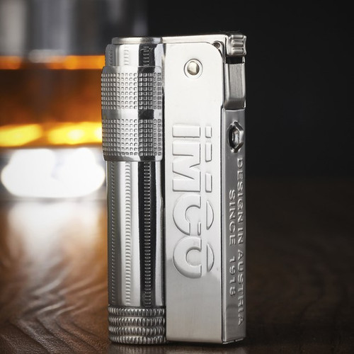 IMCO 6700 Stainless steel lighter Kerosene Oil Petrol gasoline Refillable lighter vintage style Windproof