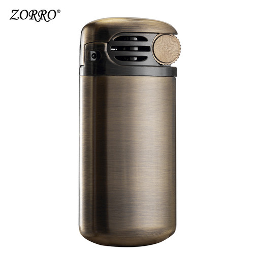 ZORRO cigarette gasoline lighter oil petrol kerosene lighter vintage retro style Grinding wheel type
