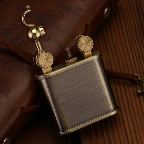 ZORRO copper Old fashioned lighter gasoline kerosene oil petrol lighter vintage Retro Style Nostalgic version