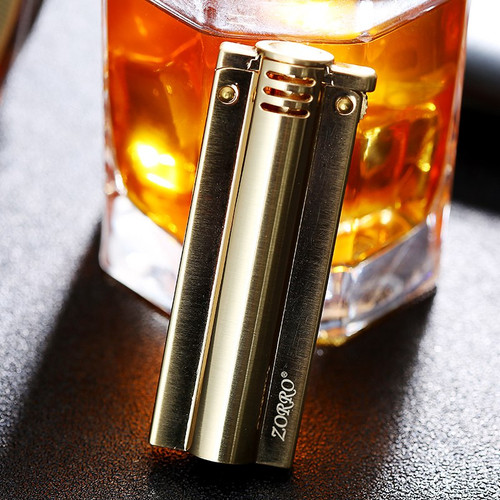 ZORRO Wheel lighter gasoline kerosene Refillable lighter Windproof vintage style