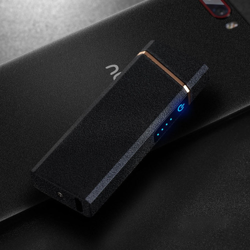 Plasma Lighter USB Windproof Electronic Lighter Rechargable Cigarette Ignitor For Smoking Free Laser Logo
