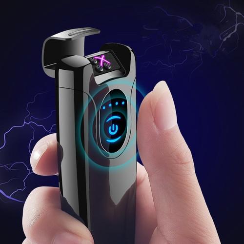 Pulsed Arc Slim Windproof cigarette cigar  Personality primo Electronics usb  cigarette plasma lighter with original box