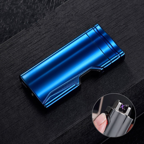 portable charge Usb charging double arc  plasma eletronic pulse infrared induction windproof lighter