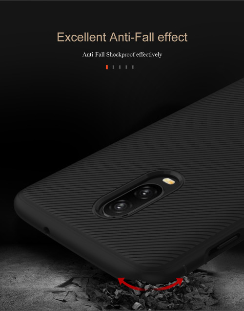 One plus 6T case Oneplus 6T case Luxury back cover soft TPU case for oneplus 6T with retailed package