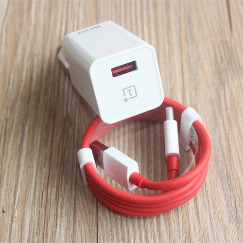 Original Oneplus 3 3T 5 5T 6 Dash EU Charger Adapter 5V/4A 1+ Dash USB Type C cable Fast Quick Charging for One Plus Three six T