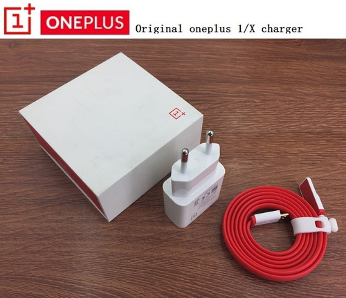 Original OnePlus One X 5V 2.1A EU charger adapter and 100cm 1+ 1 Universal Micro USB Data Sync Flat Cable with Retail packaging