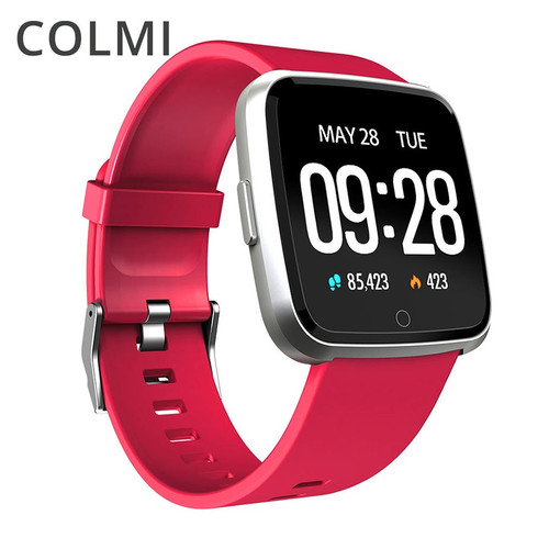 COLMI Smart watch IP67 Waterproof Fitness Tracker Heart Rate Monitor Blood Pressure Women men Clock Smartwatch For Android IOS