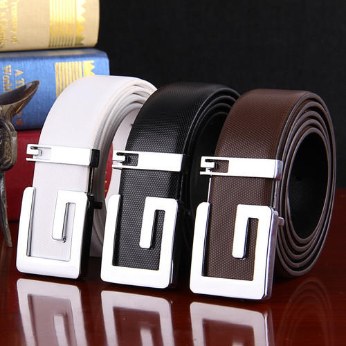 Men's belts Luxury brand genuine leather for Male casual fashion designer Straps high quality leather waistband free shipping