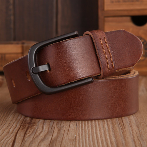 2018 Vintage Mens Belts Luxury disigner strap women High Quality 100% real Genuine Leather girdle brown green Jeans camel coffee