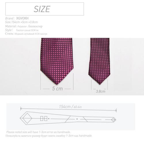 Men Tie fashion Mens 5cm Slim ties Striped lattice Neckties Gravata Jacquard Bowtie man's Wedding dress shirt Accessories
