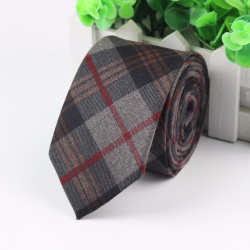 Fashion Men's Colourful Tie Cotton Formal Ties Necktie Narrow Slim Skinny Cravate Narrow Thick Neckties