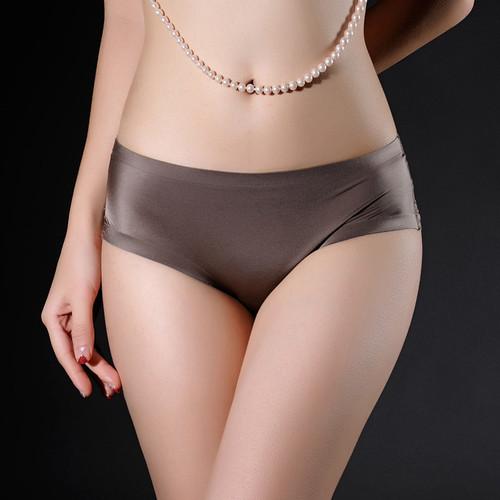DANJIU Women Lace Sexy Panties Luxury Seamless Solid Underwear Low Waist Woman Briefs Female Slim Breathable Ladies Underpants