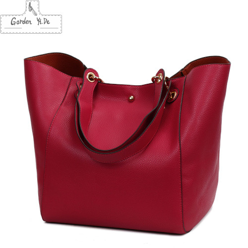 Genuine leather Women handbags 2019 New Design Women Bucket Bags Vintage Large Female Shoulder Bags bolsa feminina Tote 12 Color